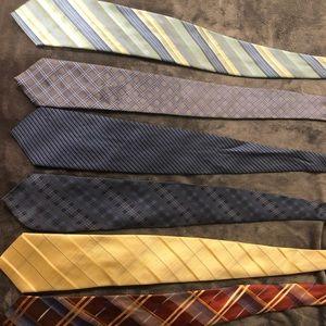 Kennith cole ties 6 as a bundle